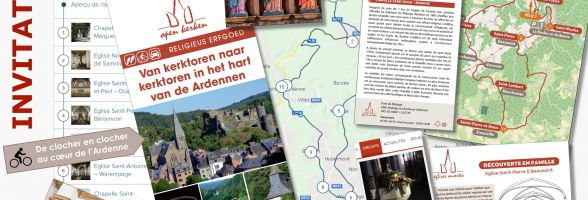 "6 new routes ""In the heart of the Ardennes"""