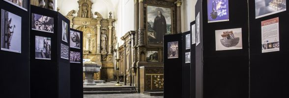 "The exhibition ""Unusual Churches"" circulates from church to church"