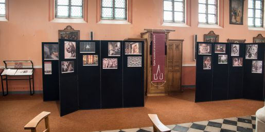 "The exhibition ""The Unusual in Religious Buildings"" is to be seen in Moha until 14/10/19"