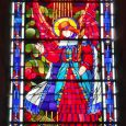 Stained-glass window : the Annunciation (1937)