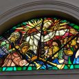 Stained glass windows by Jean Ransy